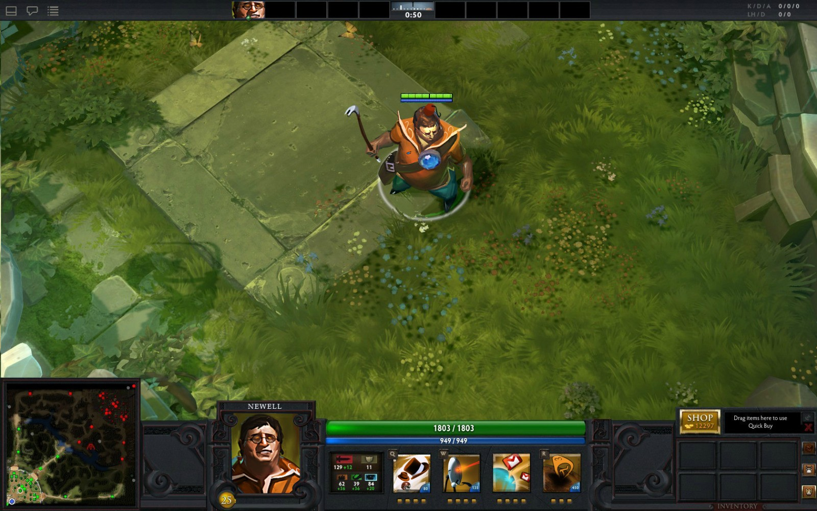 gabe newell is a dota 2 hero dota 2 gamereplays org