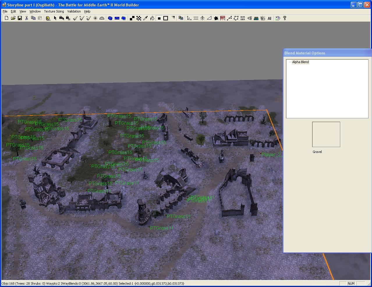 Mod In World Builder Bfme