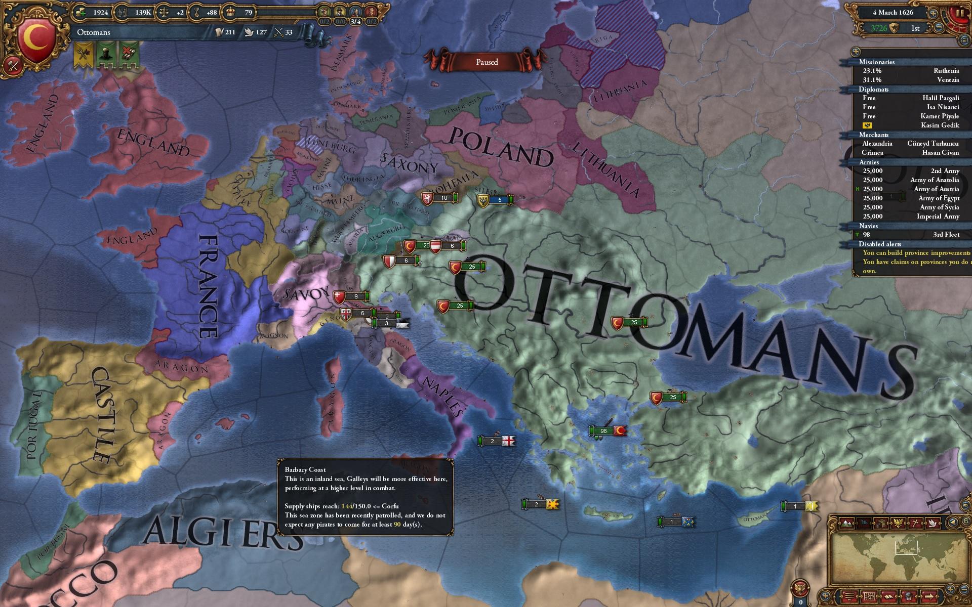 Europa Universalis 4 - GameReplays.org