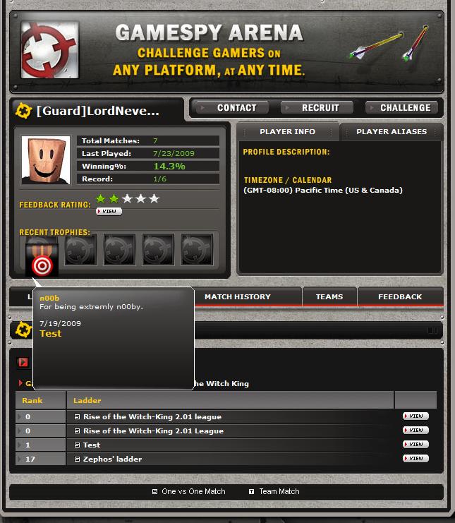 RotWK 2 01 Support Returns on GameReplays - GameReplays org