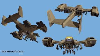GDI Unit Profile: The Orca Mk  V - Command and Conquer 4